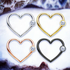 1pc-Heart-Daith-Piercing-Cartilage-Hoop-Helix-Earring-Tragus-Surgical-Steel-Ring