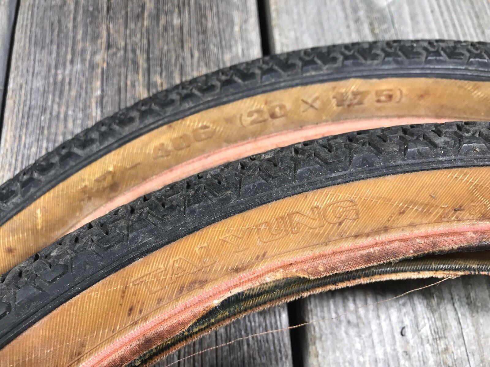 Vieja escuela de BMX Neumático Tai Yung 20 X 1.75 nuevo viejo Stock Made In Taiwan relajados Bmx nuevo viejo stock Comp