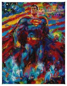 Blend-Cota-Super-Hero-Fine-Art-11-x-14-Gallery-Wrapped-Canvases-Choice-of-5