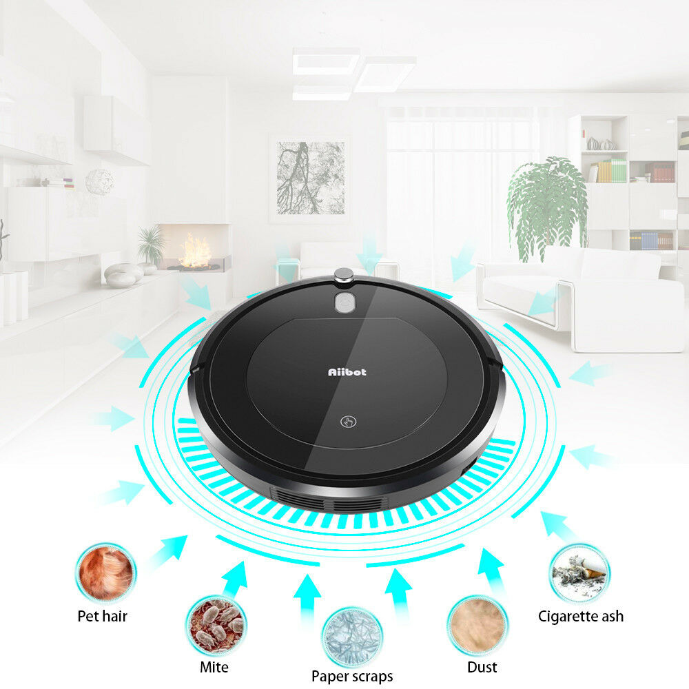 Three cleaning modes of aiibot convenient intelligent vacuum cleaner