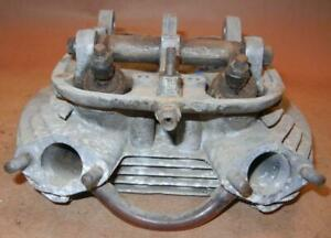 early BSA  A65 Spitfire 650 cylinder head 68-0701 USED, damaged rocker holes P78