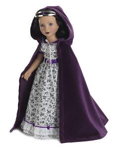 Doll-Clothes-18-034-Royal-Cloak-Crown-Carpatina-Fits-American-Girl-Dolls