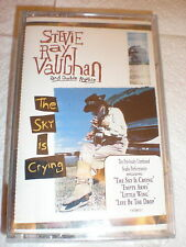 Stevie Ray Vaughan CASSETTE NEW The Sky Is Crying