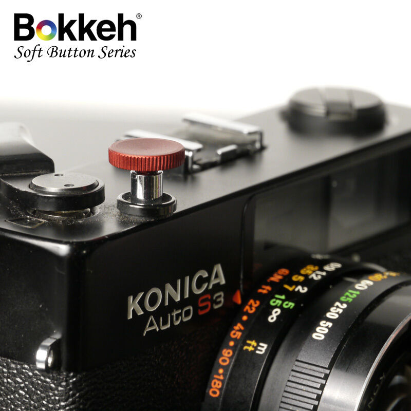 [ Metal Red ] Small Shutter Soft Release Button Metal Leica M6 M3 RF SLR