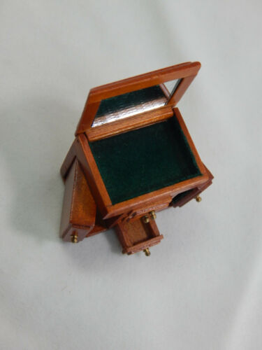 Heidi Ott Dollhouse  Miniature 1:12 Scale Jewelry Box Case Cabinet #XY604-C
