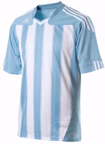 ADIDAS Climacool Stricon STRIPE JUNIOR MANICA CORTA CALCIO Jersey T Shirt Top
