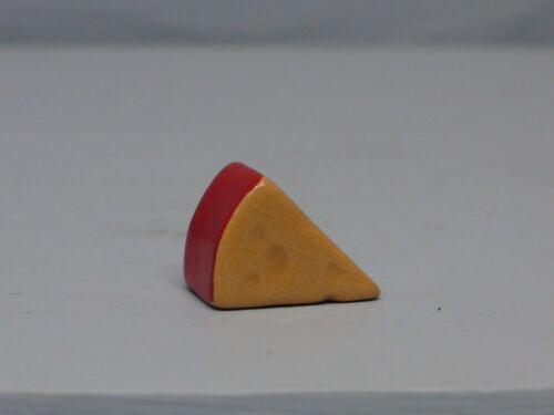 Retired Hagen Renaker Red Rind Cheese