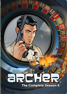 Archer-The-Complete-Season-Six-New-DVD-Dubbed-Widescreen