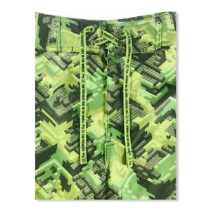 LRG-Lifted-Research-Group-Men-039-s-Board-Shorts-Green
