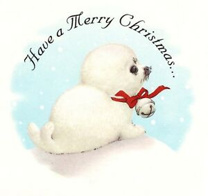 Have-a-Merry-Christmas-White-Seal-Select-A-Size-Ceramic-Waterslide-Decals-Xx