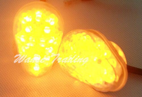 Flush Mount Turn Signals Blinker Light Clear For YAMAHA YZF R1 R6 R6S FZ1 FZ6