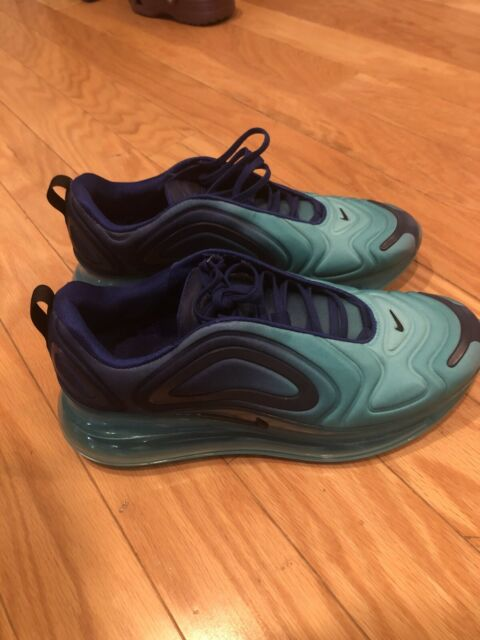Nike Air Max 720 Womens Size 7 Sea Forest Deep Royal Blue Running 90 Ar9293 400 For Sale Online Ebay