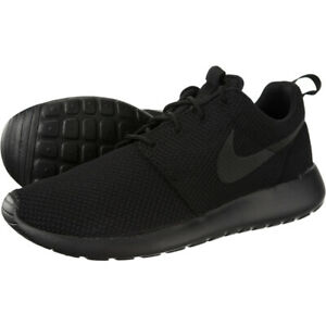 Agente Nueve Optimista  Nike Roshe One 1 Run Rosherun Triple Black 511881-026 Men Running Shoe  100%Legit | eBay