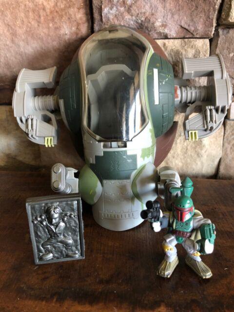 Playskool Star Wars Galactic Heroes Boba Fett s Slave 1 One