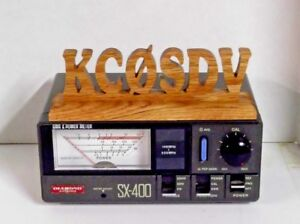 Handcrafted-Oak-Personalized-small-Amateur-Ham-Radio-Call-sign-FREE-SHIPPING