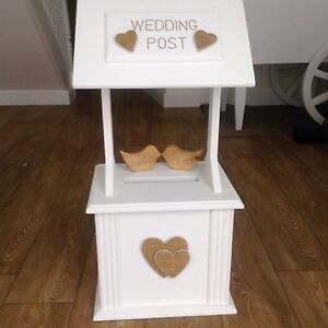 Image Is Loading Wedding Wishing Well Post Box Hire Only