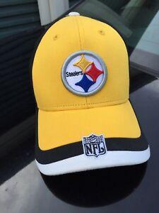 Image is loading Pittsburgh-Steelers-NFL-Football-Team-Apparel-Adjustable- Cap- 50c69cea8