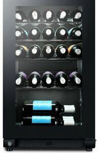 Dettagli su Cantinetta Vino Frigo Portabottiglie 33 Bottiglie classe A  11-18°C HWS33GA Haier