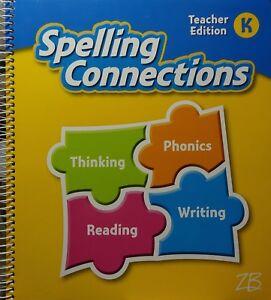 Zaner-Bloser-Spelling-Connections-Grade-K-Teacher-Edition-Kindergarten