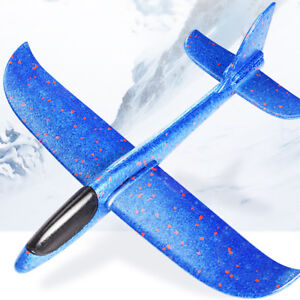 Details about Flying Mini Foam Throwing Glider Aircraft Toy Hand Launch  Airplane Model for Kid