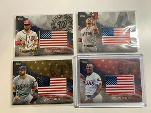 2018-TOPPS-SERIES-2-INDEPENDENCE-DAY-U-S-FLAG-PATCH-CARD-YOU-PICK