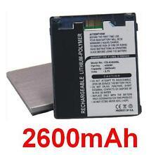 Batería tipo 400081 500743 para Archos AV500E AV530 Móvil DVR 30GB 2600mAh