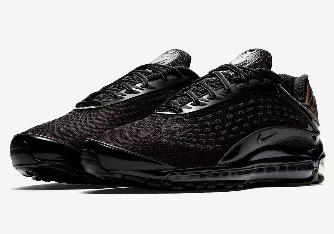 2018 Nike Air Max Deluxe QS SZ 10.5 OG Triple Black Reflective 3M OG 10.5 AV2589-001 327ffe