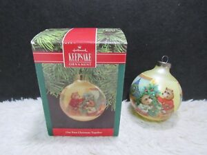 Hallmark Our First Christmas Ornament.Details About Hallmark Keepsake Our First Christmas Together Christmas Tree Ornament