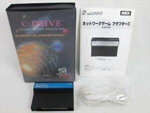 Msx-C-Drive-Kit-NT-C01-Reseau-Adaptateur-II-MSX2-2-Import-Japon-Jeu-20130-Msx