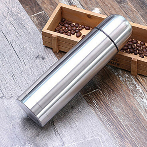 350//500ml Stainless Steel Vacuum Thermos Portable Insulated Water Flask Bottle