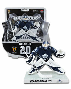 Imports-Dragon-RARE-950-NHL-Hockey-Ed-Belfour-Maple-Leafs-Blue-Jersey-Limited