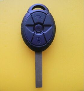 bmw mini cooper keyless remote key case shell replacment fob clicker s r50 r53 ebay. Black Bedroom Furniture Sets. Home Design Ideas
