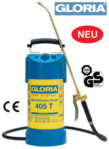 Gloria Irroratore ad alte prestazioni 405 T Sprühgerät 5 LITRI 6 BAR