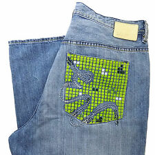 ECKO Unlimited Jeans Mens 38 X 33 BAGGY Hip Hop UNLTD