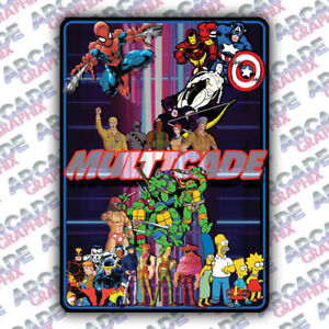 Multicade-4-Player-Series-Arcade-Cabinet-Game-Graphic-Artwork-Sideart