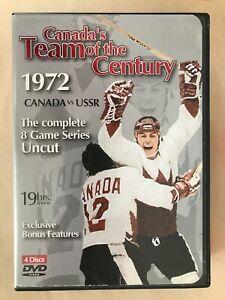CANADA'S TEAM OF THE CENTURY 1972 VS USSR ALL GAMES 1-8 PAUL HENDERSON GOAL DVD