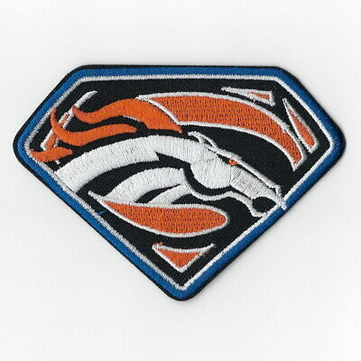 Denver Broncos T Iron On Patches Embroidered Badge Patch Applique Emblem Fn 805128021445 Ebay