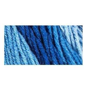 Red Heart Super Saver Ombre Yarn-True Blue
