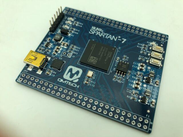 Xilinx Spartan-7 XC7S15 FPGA development board.