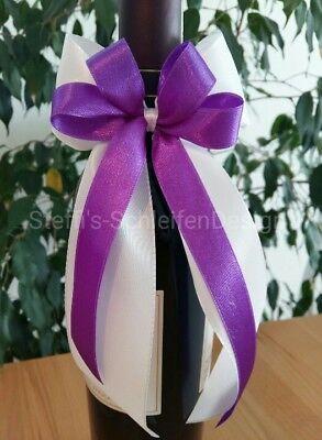 Autoschleifen Hochzeitsschleifen Antennenschleifen Schleifen in Weiß// Ivory