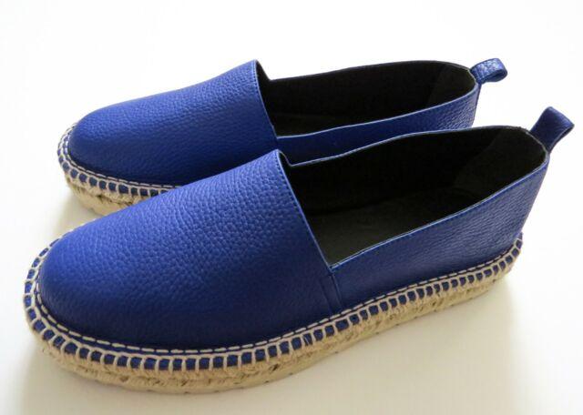 Louis Vuitton Mens Shoes Blue Leather