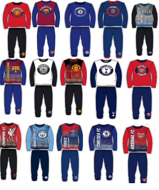 Newcastle United FC Older Boys Pyjamas 4-5 years to 11-12 years
