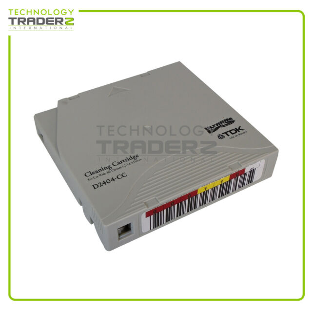 D2404-CC TDK Media LTO Ultrium 1 1/2-inch Cleaning Tape Cartridge * Pulled *