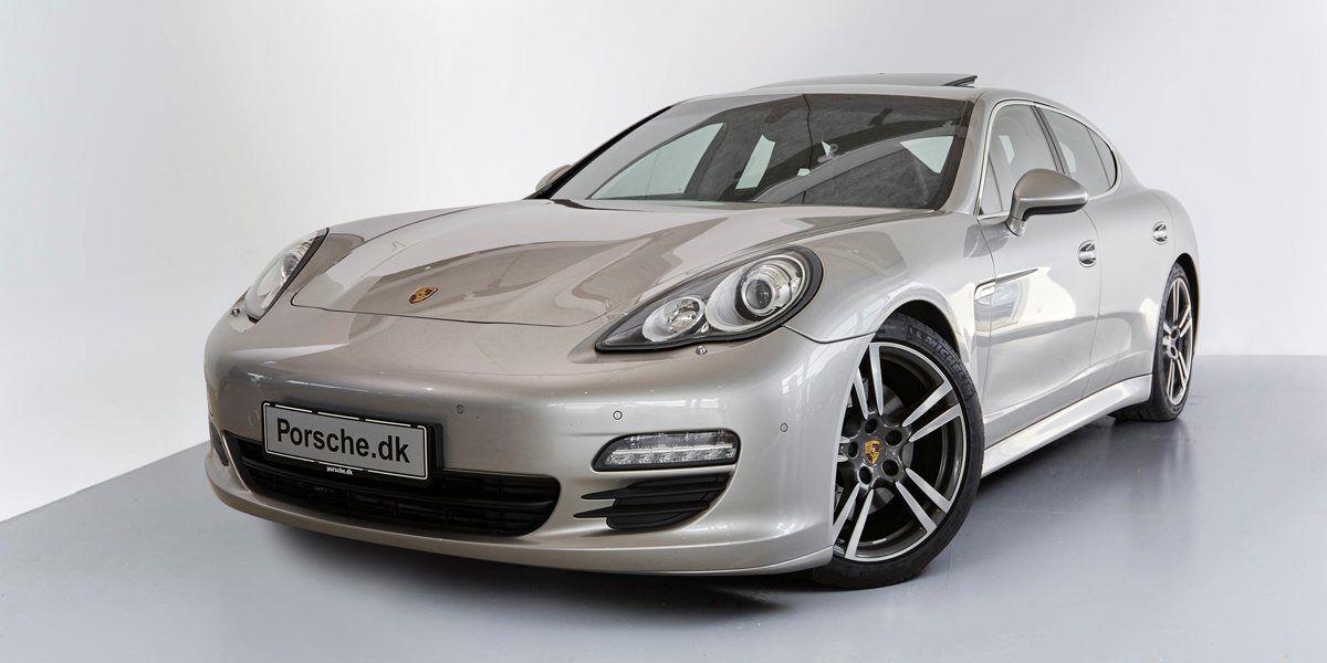 Porsche Panamera S 4,8 PDK 5d - 624.900 kr.