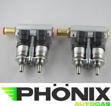 Hana Gold Autogas 2x2er Rail Alu inkl. Injektoren 4 Zylinder KME LPG