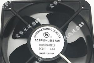1pc new fan freeship TDR20060BHLP 24V 1.6A 20060