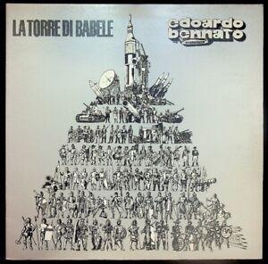 Edoardo-Bennato-La-Torre-Di-Babele-Ricordi-SMRL-6190-Vinile-V041070