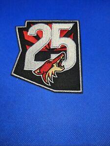 Arizona Coyotes 25th Anniversary Patch