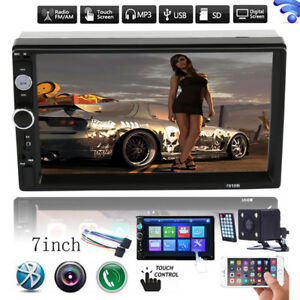 HD-7-034-Double-2Din-Bluetooth-Car-Stereo-Radio-FM-MP5-Player-Touch-Screen-In-Dash