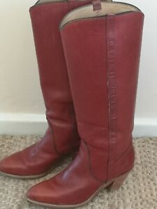 Frye-ladies-vintage-boots-size-6-5-UK-STUNNING